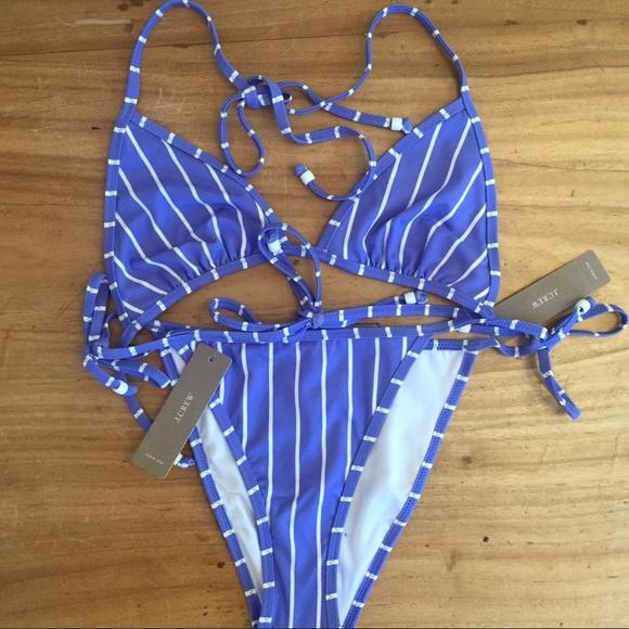 7bcdf8a5e0 J. Crew Swim   Nwt J Crew Playa Miami String Bikini   Poshmark